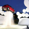 Amazing Car Fountain in Rome Italy