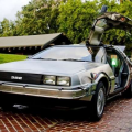 Back To The Future Time Machine Car Replica