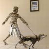 Amazing Sculptures Made out of Scrap Car Parts