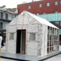 The House made of newspaper