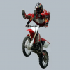 Spectacular Flight in Motocross..but when that has to begin?