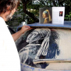 Amazing Artwork Created in Dusty Car Windows