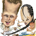 Awesome Celebrities and Politicians Caricatures