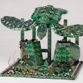 Steven Rodrig – Circuit Board Sculptures